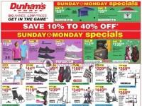 Dunham's Sports (Great Outdoor sale) Flyer