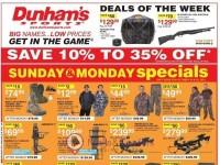 Dunham's Sports (Hot Deals) Flyer