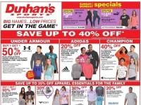 Dunham's Sports (Hot Offers) Flyer