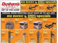 Dunham's Sports (huge Hunting sale) Flyer
