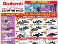 Dunham's Sports (Low Prices) Flyer
