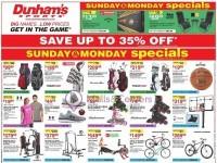 Dunham's Sports (Special Offer) Flyer