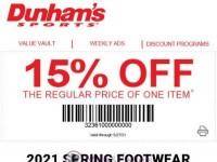 Dunham's Sports (Spring sale) Flyer
