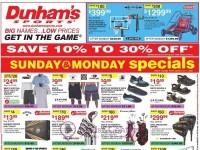 Dunham's Sports (Summer Fun Sale) Flyer