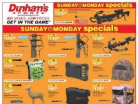 Dunham's Sports (Sunday And Monday Specials) Flyer