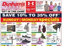 Dunham's Sports (Weekly Specials) Flyer