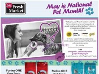 D&W Fresh Market (May Is National Pet Month) Flyer