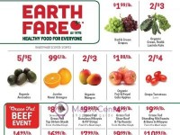 Earth Fare (Healthy food for everyone) Flyer