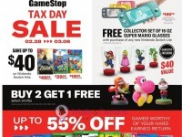 EB Games (Tax Day Sale) Flyer