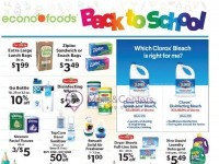EconoFoods (Back To School) Flyer