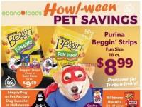 EconoFoods (Howl-Ween Pet Savings) Flyer