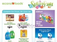 EconoFoods (Spring Sale) Flyer