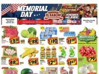 El Rancho Supermercado (Memorial Day Sale) Flyer