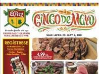 El Rey Foods (Cinco De Mayo) Flyer