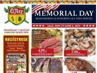 El Rey Foods (Memorial Day Sale) Flyer