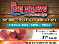 El Rio Bravo Supermarket (Hot Offer) Flyer