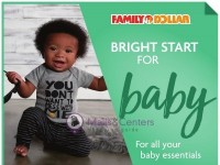 Family Dollar (Bright Start For Baby) Flyer