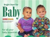 Family Dollar (Bright Start For Baby) Flyer