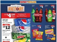 Family Dollar (Load Your Team To Victory) Flyer