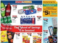 Family Dollar (The School of Savings is in Session) Flyer
