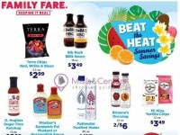 Family Fare (Beat The Heat Summer Savings) Flyer