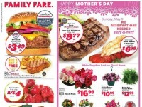 Family Fare (Happy Mother's Day) Flyer