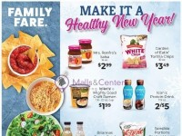 Family Fare (Make It A Healthy New Year) Flyer