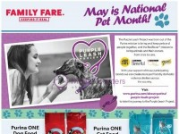 Family Fare (May Is National Pet Month) Flyer