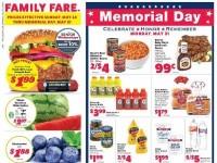 Family Fare (Memorial Day) Flyer