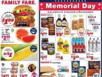 Family Fare (Memorial Day Sale) Flyer
