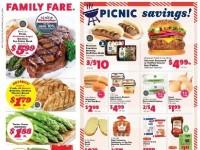Family Fare (Picnic Savings) Flyer