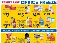 Family Fare (Price Freeze) Flyer