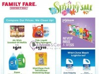 Family Fare (Spring Sale) Flyer