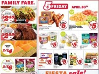 Family Fare (Weekly Specials) Flyer
