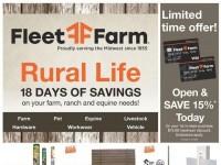 Fleet Farm (18 Days Of Savings) Flyer