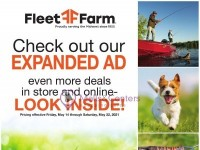Fleet Farm (Check Out Our Expanded Ad) Flyer
