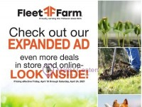 Fleet Farm (Check Out Our New Expanded Ad) Flyer