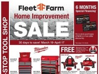 Fleet Farm (home improvement sale) Flyer