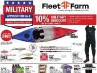 Fleet Farm (Military Appreciation Sale) Flyer