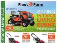 Fleet Farm (Spring Outdoor Living Event) Flyer