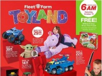Fleet Farm (Toyland Offer) Flyer