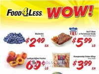 Food 4 Less (WOW deals) Flyer