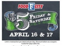Food City (Special Offer) Flyer