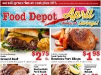 Food Depot (April Shower of Savings) Flyer