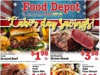 Food Depot (Labor day savings) Flyer