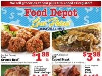 Food Depot (Low Prices) Flyer