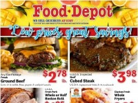 Food Depot (low prices great savings) Flyer
