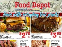 Food Depot (Save with everyday low prices) Flyer