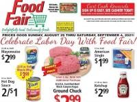 Food Fair (Celebrate Labor Day) Flyer