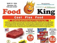 Food King Cost Plus Food (Special offer - CO) Flyer